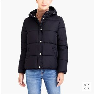 NEW JCrew Slim Fit Puffer Jacket